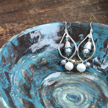 Cone Lily of the Valley - Sterling Silver
