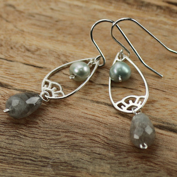 Cherry Drop - Sterling Silver