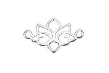 Tibetan Lotus - Sterling Silver