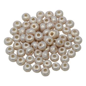 Size 5 Miyuki Seed Beads -- Baroque Pearl Blush Pink
