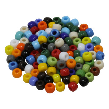 Size 3 Miyuki Seed Beads -- Opaque Mix