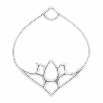 Lotus Lamp - Sterling Silver