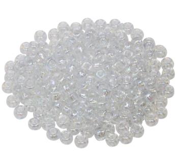Size 5 Miyuki Seed Beads -- Crystal AB