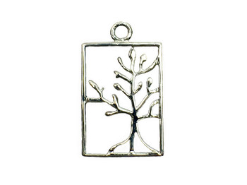 Tree of Life Rooted - Sterling Silver