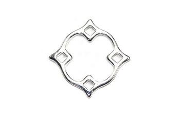 Small Diamond Nimbus - Sterling Silver