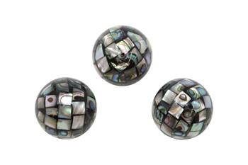 Abalone Mosaic 20mm Round