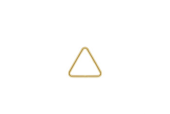 Mini Open Triangle - 14kt Gold Filled