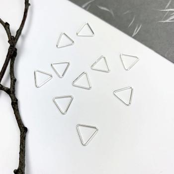 Mini Open Triangle - Sterling Silver