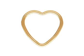 Mini Open Heart - 14kt Gold Filled