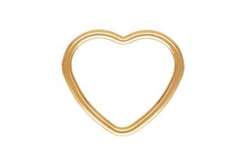 Mini Open Heart - 14kt Gold Filled