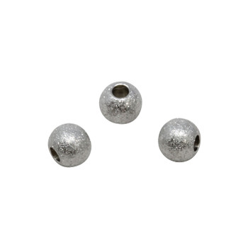 Stainless Steel 8mm Round Stardust Bead