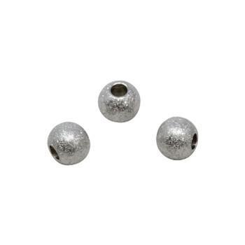 Stainless Steel 8mm Round Stardust Bead