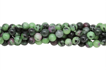Ruby Zoisite AA Grade Polished 6mm Round