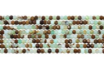 Chrysoprase Polished 2mm Faceted Rondel