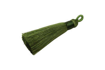 Green 2.5 Inch Tassel