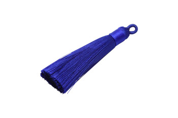 Blue 2.5 Inch Tassel