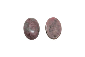 Rhodonite Polished 13x18mm Oval Cabochon