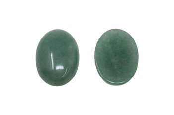 Aventurine Polished 18x25mm Oval Cabochon