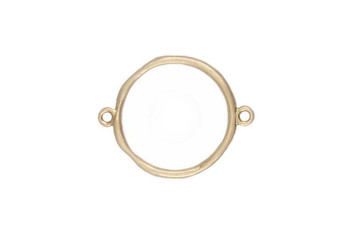 Medium Organic Circle Connector - Vermeille