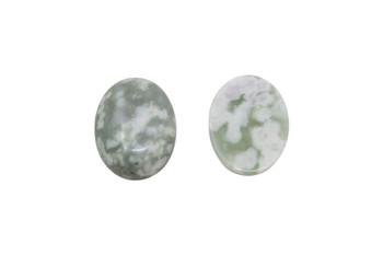 Peace Jade Polished 15x20mm Oval Cabochon