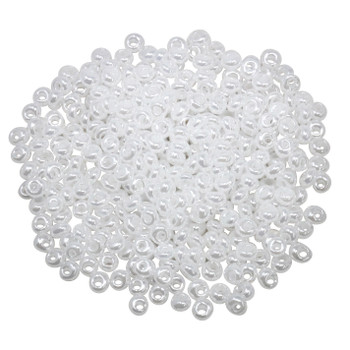 3mm Toho Magatamas -- Ceylon Snowflake