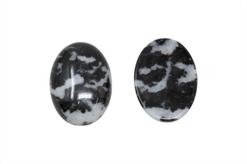 Mexican Jasper Polished 18x25mm Oval Cabochon