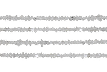 Herkimer Diamond Polished 2x4mm Nugget