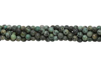 African Turquoise Polished 6mm Round
