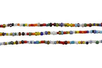 Christmas Seed Beads 2-4mm