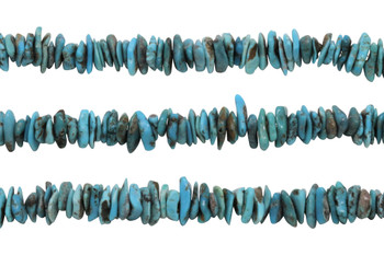 American Turquoise Polished 8-12mm Chips