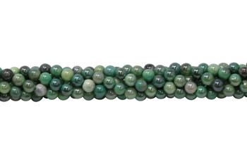 Green Opal Coated Polished 6mm Round