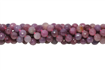 Ruby Polished 7mm Faceted Round