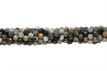 Dendritic Opal Polished 6mm Faceted Round