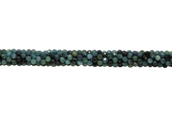 Blue Tourmaline Polished 3.5mm Faceted Round