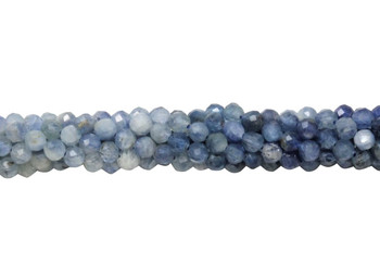 Ombre Kyanite Polished 3.5mm Faceted Round