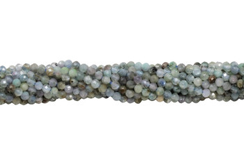 Kyanite Polished 2mm Faceted Round - Multi Color