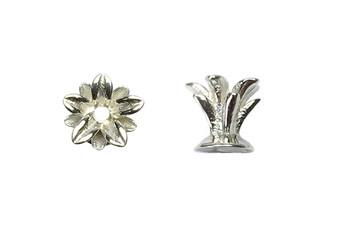 Pineapple Crown Cap - Sterling Silver