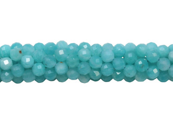 Amazonite Polished 4.5mm Faceted Round