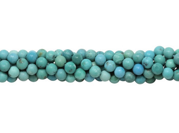 American Turquoise Polished 3.5mm Round