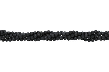 Lava Rock Coated Natural 6mm Round