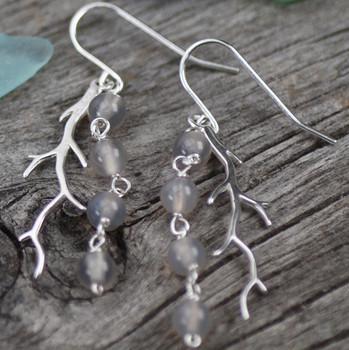 Coral Twig - Sterling Silver