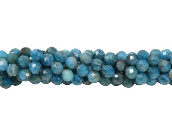 Apatite Polished 4mm Faceted Round