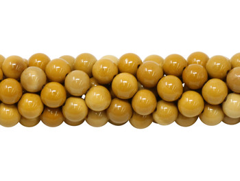 Golden Mookaite A Grade Polished 6mm Round