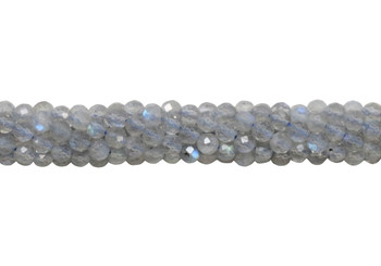 Labradorite A Grade Polished 3mm Faceted Round