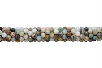 Peruvian Opal Polished 6mm Round
