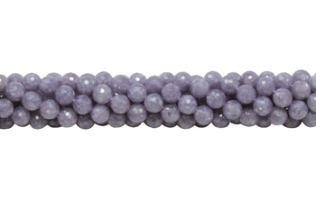Lepidolite Polished 8mm Faceted Round
