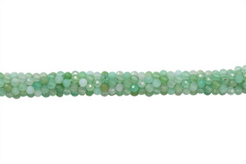 Chrysoprase Polished 3mm Faceted Round