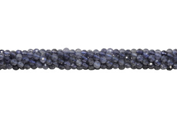 Iolite Polished 4.5mm Faceted Round