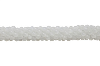 Selenite A Grade Polished 6mm Round