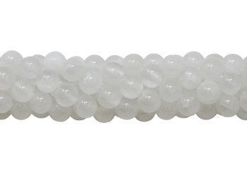 Selenite A Grade Polished 8mm Round